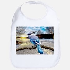 Blue Jay Sunrise Bib