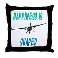 Hapiness is a Caravan Throw Pillow