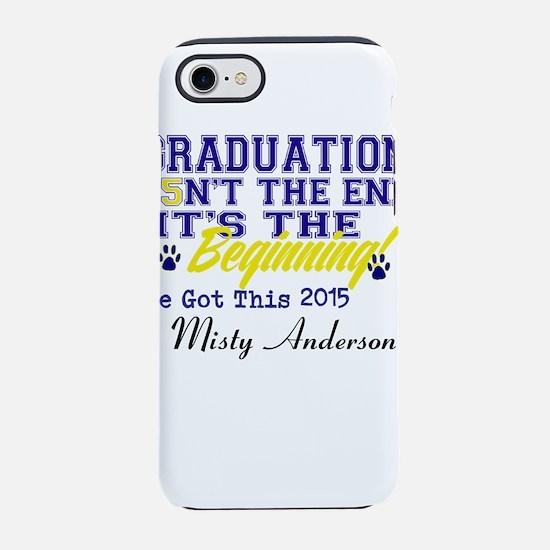 Seniors 2015 Personalize iPhone 8/7 Tough Case