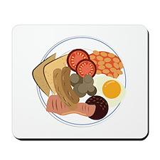 Full English Breakfast Mousepad
