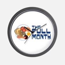 The Full Monty Wall Clock
