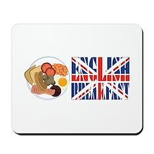English Breakfast Mousepad