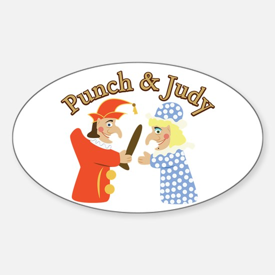 Punch & Judy Decal