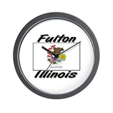Fulton Illinois Wall Clock