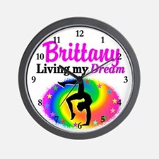 GYMNAST DREAM Wall Clock