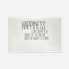 Happiness comes when you brush off the bad day Mag