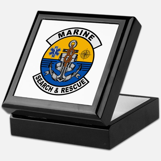 Marine Search and Rescue Keepsake Box