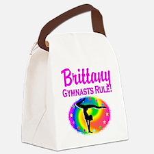 GYMNAST DREAM Canvas Lunch Bag