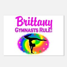 GYMNAST DREAM Postcards (Package of 8)