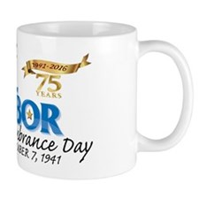 Pearl Harbor Day 75th Mug Mugs