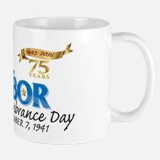 Pearl Harbor Day 75th Mug Mugs