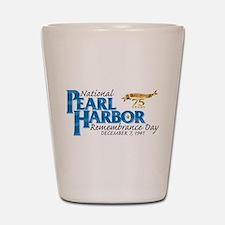 75 years: Pearl Harbor Shot Glass