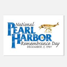 75 years: Pearl Harbor Postcards (Package of 8)