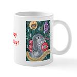 Rabbit Christmas Mug