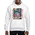 Rabbit Christmas Hooded Sweatshirt