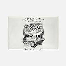 Tomahawks Magnets