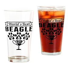 World's Best Beagle Dad Drinking Glass