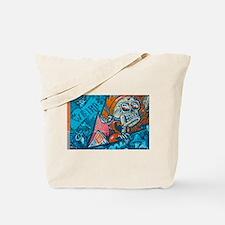 Unique Mural Tote Bag