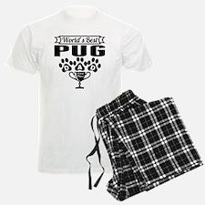 World's Best Pug Dad Pajamas