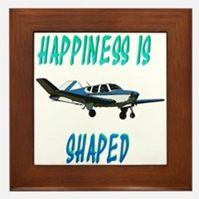 Happiness is a Bonanza! Framed Tile