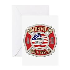 Louisville VFD Greeting Card