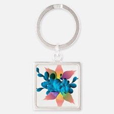 Colorful forms Keychains