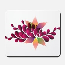 Colorful forms Mousepad