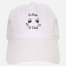 It's Wine O'Clock Baseball Baseball Baseball Cap