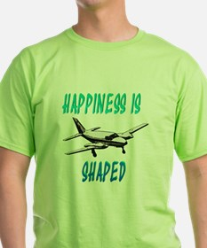 Happiness is flying a Twin T-Shirt