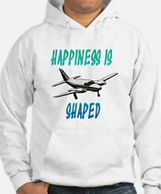 Happiness is flying a Twin Hoodie