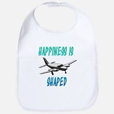 Happiness is flying a Twin Bib