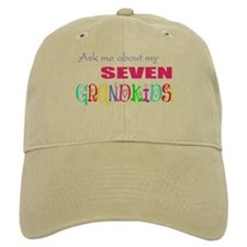 Seven Grandkids Baseball Cap