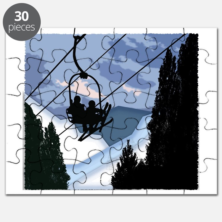 Cute Skis Puzzle