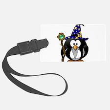 Cute Tux penguin Luggage Tag