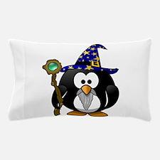 Funny Purple penguin Pillow Case
