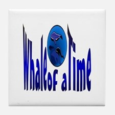 Whale of a Time Tile Coaster