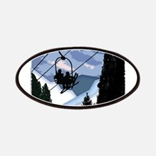 Chairlift full of Skiers Patch