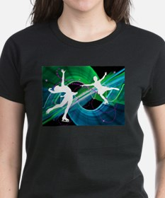 Bedazzled Figure Skaters T-Shirt