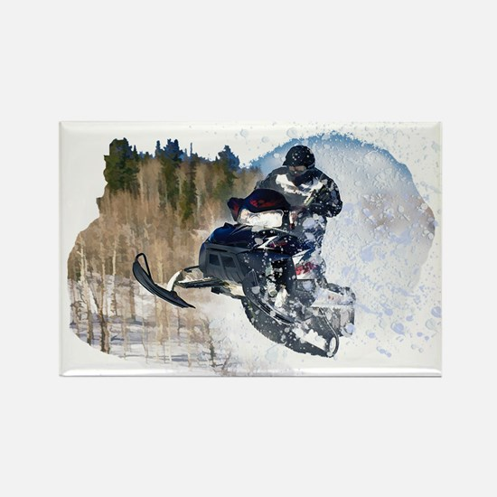 Airborne Snowmobile Magnets