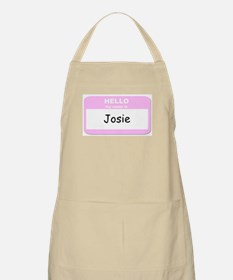 My Name is Josie BBQ Apron