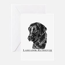 Labrador Retriever Breed Greeting Cards (6)