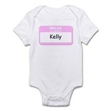 My Name is Kelly Infant Bodysuit