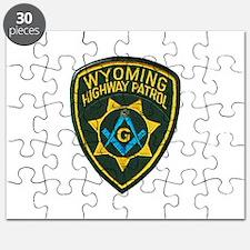 Wyoming Highway Patrol Mason Puzzle