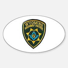 Wyoming Highway Patrol Mason Decal