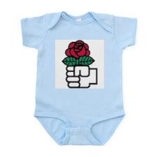 Funny Socialist Infant Bodysuit