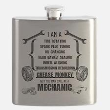 Funny Mechanic Flask