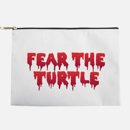 Fear the Turtle Makeup Bag