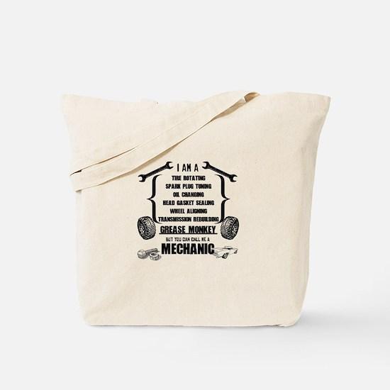 Call me Mechanic Tote Bag