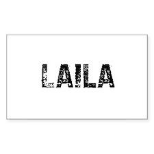 Laila Rectangle Decal