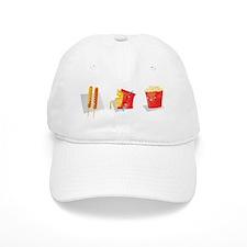 kawaii food Baseball Cap